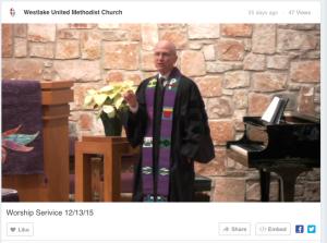 Church Live Stream - Westlake United Methodist Church